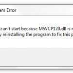 How to Fix MSVCP120.dll Missing Error (Complete Guide)