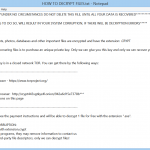 Delete Dcrtr virus (.crypt) Ransomware From PC (Restore The Infected Files)